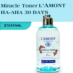 Nước Hoa Hồng LAmont Miracle Toner HA-AHA 30 DAYS 250ml