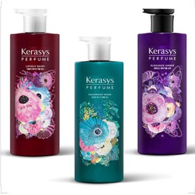 Cặp dầu gội xả nước hoa cho tóc hư tổn Kerasys Hàn Quốc 600ml - Cặp dầu gội xả Kerasys