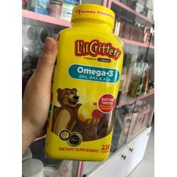 Kẹo Lil Critters kẹo  gấu bổ xung Omega3 DHA Gummy Fish của Lil Critters date tháng 12 năm 2020
