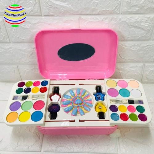 Bộ đồ chơi trang điểm cho bé – Vali Trang Điểm Cho bé
