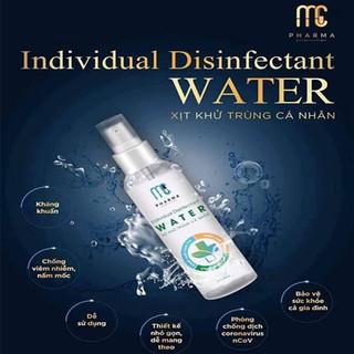 Nước Rửa Tay Khô Kháng Khuẩn Individual Disinfectant 120ml Tiện Dụng Mùi Hương Dễ Chịu - Dry hand wash - nrt1 thumbnail