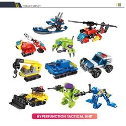 bộ 10 mô hình lego xếp hình lắp ráp phát triển trí tuệ ,mô hình xe đua lắp ráp