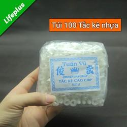 Tắc kê nở nhựa gói 100 chiếc
