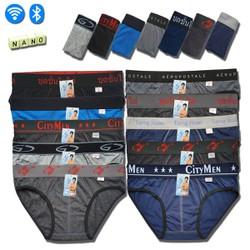 QUẦN LÓT NAM - Bộ 10 quần Nhiều Lưng nhiều màu