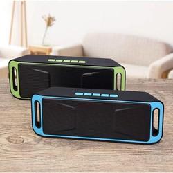 Loa bluetooth giá rẻ Sc 208 loa nghe nhạc âm thanh hay không kém loa thùng - loa mini 208 bền bỉ