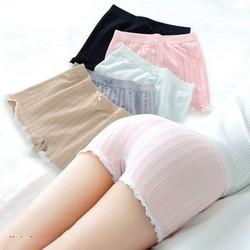 Quần Trong Váy-quần lót nữ mặc trong váy viền ren, dệt kim FIRM – Nhật