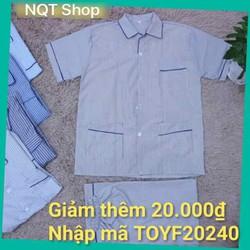 Bộ Pijama Nam Trung Niên Cộc Tay - Bộ Pijama Nam Trung Niên Cao Cấp