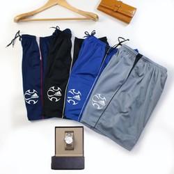 Combo 3 Quần đùi nam loại 1 sọc vải thun co giãn Size dưới 70kg