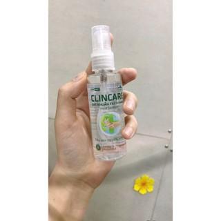Nước rửa tay sát khuẩn tay nhanh Clincare dạng xịt 70ml tiện dụng - nuocruatay thumbnail