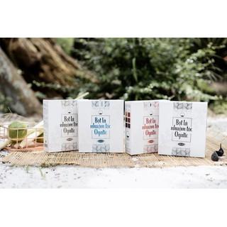 Combo 2 hộp bột lá nhuộm tóc thảo dược Ogatic các màu - ĐEN, NÂU, NÂU ĐỎ, XANH ĐEN - Sản phẩm từ thảo dược thiên nhiên, không hóa chất - COMBO 2 HỘP thumbnail