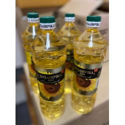 Dầu ăn hướng dương Nga chai 1 lít nhập khẩu từ CHLB Nga