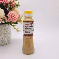 2 chai nước sốt mè rang Kewpie môic chai 180ml