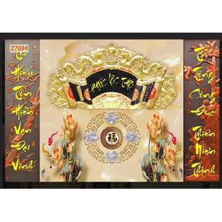 tranh dán phòng thờ 3d [ĐƯỢC KIỂM HÀNG] 27807315 - 27807315 thumbnail