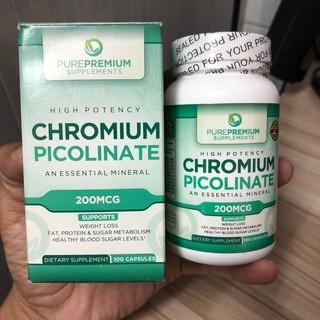 [ Sale Date 10 2020 ] Viên uống tiểu đường Chromium Picolinate 200 mcg 100 viên - Chromium Picolinate thumbnail