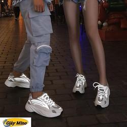 Giày phản quang Yeezy 700 giày Mino