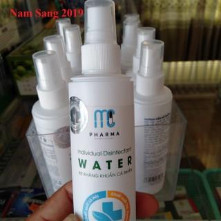 Chai xịt kháng khuẩn cá nhân WATER 120ml - Chai xịt kháng khuẩn 120ml thumbnail