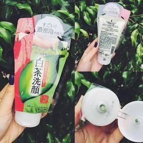 nội địa Nhật - Sữa Rửa Mặt Trà Xanh Nhật Bản 120ml - 2300