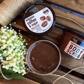 Tẩy Tế Bào Chết Toàn Thân Organic Shop Organic Coffee & Sugar Body Scrub 250g - bbx0037