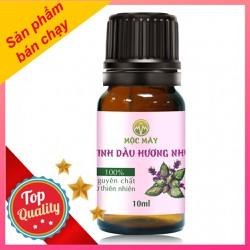 Tinh dầu hương nhu 10ml nguyên chất - chăm sóc tóc - dưỡng tóc - giảm rụn tóc từ thiên nhiên Mộc Mây