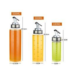 Bình đựng nước mắm, dấm, dầu ăn và gia vị khác 180ml-300ml-500ml bằng thủy tinh