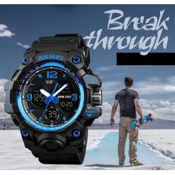 Đồng hồ thể thao - Đồng hồ điện tử thể thao nam SKMEI 1155B đa chức năng chống nước