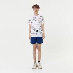 Áo phông thời trang nam cố tròn Hàn Quốc Orange Factory 8L328MSW
