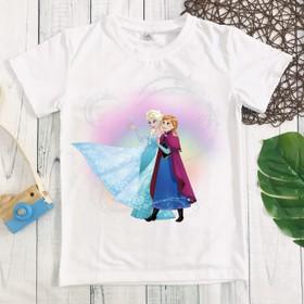 Áo thun Elsa bé gái dễ thương - MM085_elsa