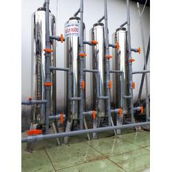 Máy  lọc nước phèn 4 cột lọc inox 304 cho sinh hoặt ăn uống, tắm giặt.....