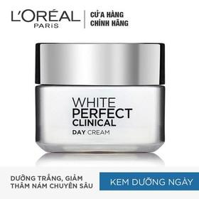 Bộ kem dưỡng da trắng sáng trị thâm nám toàn diện White Perfect Clinical - TULP00351CB-3