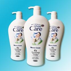 [ HƯƠNG THƠM QUYẾN RŨ ][ Combo 3 chai ]Sữa Tắm Dê White Care Cao Cấp Chai Khổng Lồ 1200ml x 3 chai, HSD đến tháng 01-2023