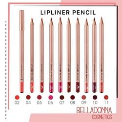 Chì Kẻ Viền Môi Vacosi Lipliner Pencil [Đủ Bảng Màu, Mẫu Mới 2019]