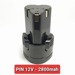 PIN SẠC 12V LI-ION - 2800mah DÙNG CHO KHOAN PIN