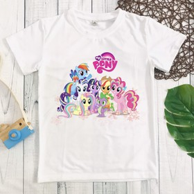 Áo thun pony bé gái dễ thương - MM085_pony