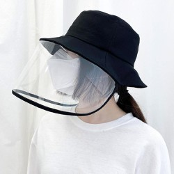 Nón chống dịch hoa cúc , mũ bảo hộ chống dịch kèm kính chắn nhiều màu