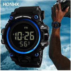 Đồng hồ thể thao - Đồng hồ điện tử nam nữ Sport Watch hiển thị màn hình điện tử có đèn LED ban đêm