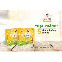 Combo 2H Hero Kid Gold - Hỗ trợ cải thiện biếng ăn, tăng cường sức đề kháng, tăng chiều cao, mát gan
