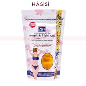 Muối Tắm Sáng Da Vết Thâm Vùng Nách & Bikini YOKO - Whitening Spa Salt For Armpit&Bikini Area 220g - 2506335