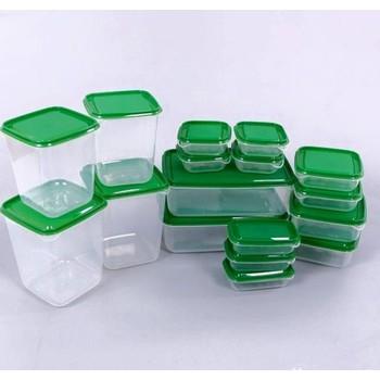 Bộ 17 hộp nhựa đựng thực phẩm an toàn