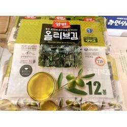 Rong biển Hàn Quốc ăn liền tẩm dầu oliu