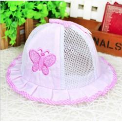 Mũ lưới mùa hè cho bé gái