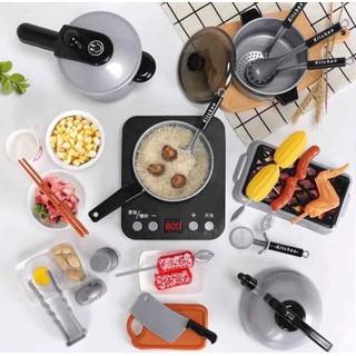 Bộ đồ chơi nấu ăn 36 món siêu xinh xắn an toàn sức khỏe dành cho bé - Bộ đồ chơi làm bếp cho bé mini cho bé trai và gái - VGO thumbnail