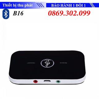 Thiết bị thu phát nhạc không dây Bluetooth B6 - 2in1 Bluetooth Receiver - Bluetooth Transmiter - thiết bị thu phát bluetooth B16 thumbnail