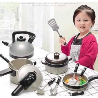Bộ đồ chơi nấu ăn 36 món siêu xinh xắn an toàn sức khỏe dành cho bé - Bộ đồ chơi làm bếp cho bé mini cho bé trai và gái - BHB thumbnail