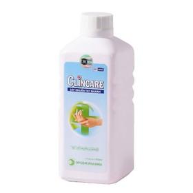 Dung dịch sát khuẩn rửa tay nhanh Clincare 500ml ( kèm vòi xịt - vcc
