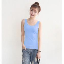 Áo thun nữ không tya thun gân dày cao cấp hàng Quảng Châu