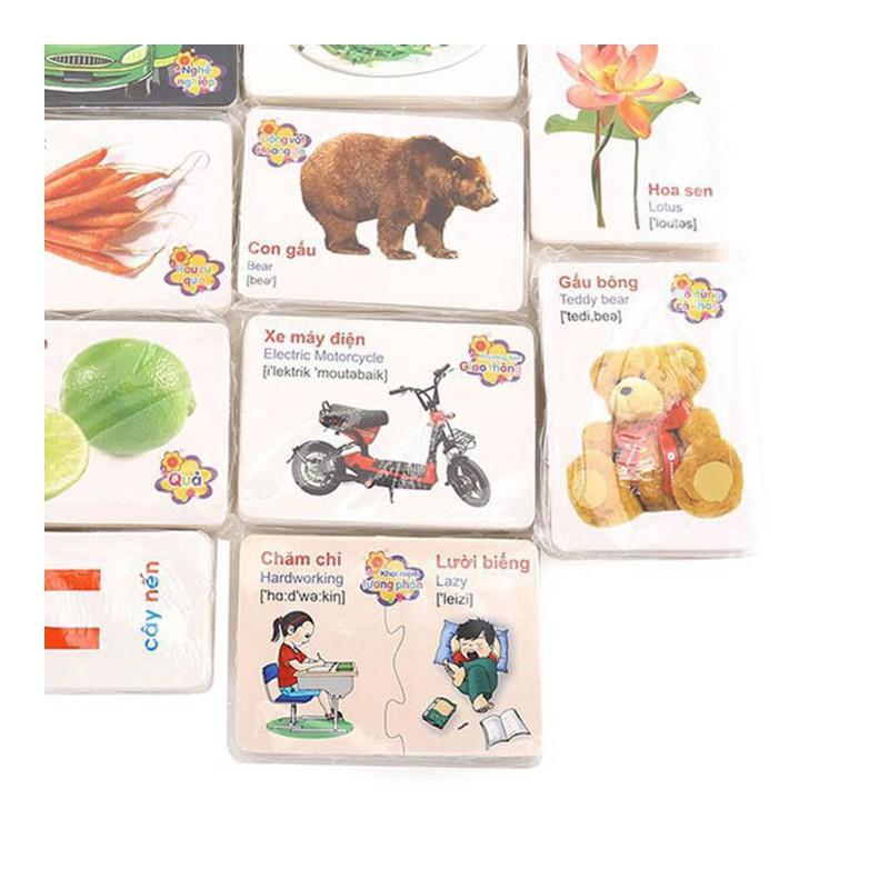 Bộ thẻ học thông minh cho bé – Bộ 416 thẻ học – BTSB-1