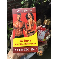 Vitamin Hỗ Trợ Tăng Cân Wisdom Tăng 3-7kg