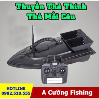 Thuyền Thả Thính Điều Khiển Từ Xa Khoảng Cách 500m - Thuyền Thả Thính Đa Năng Siêu Tiện Lợi - 454354323 thumbnail