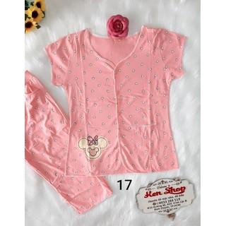 Đồ bộ cotton nữ quần lửng - ẢNH THẬT-CHO XEM HÀNG - 178 thumbnail