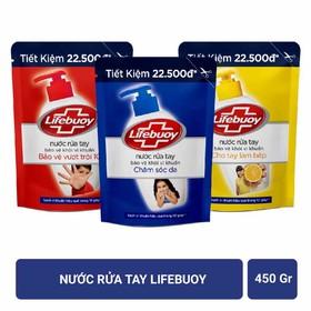 Nước rửa tay Lifebuoy diệt khuẩn chăm sóc da - NRTL900
